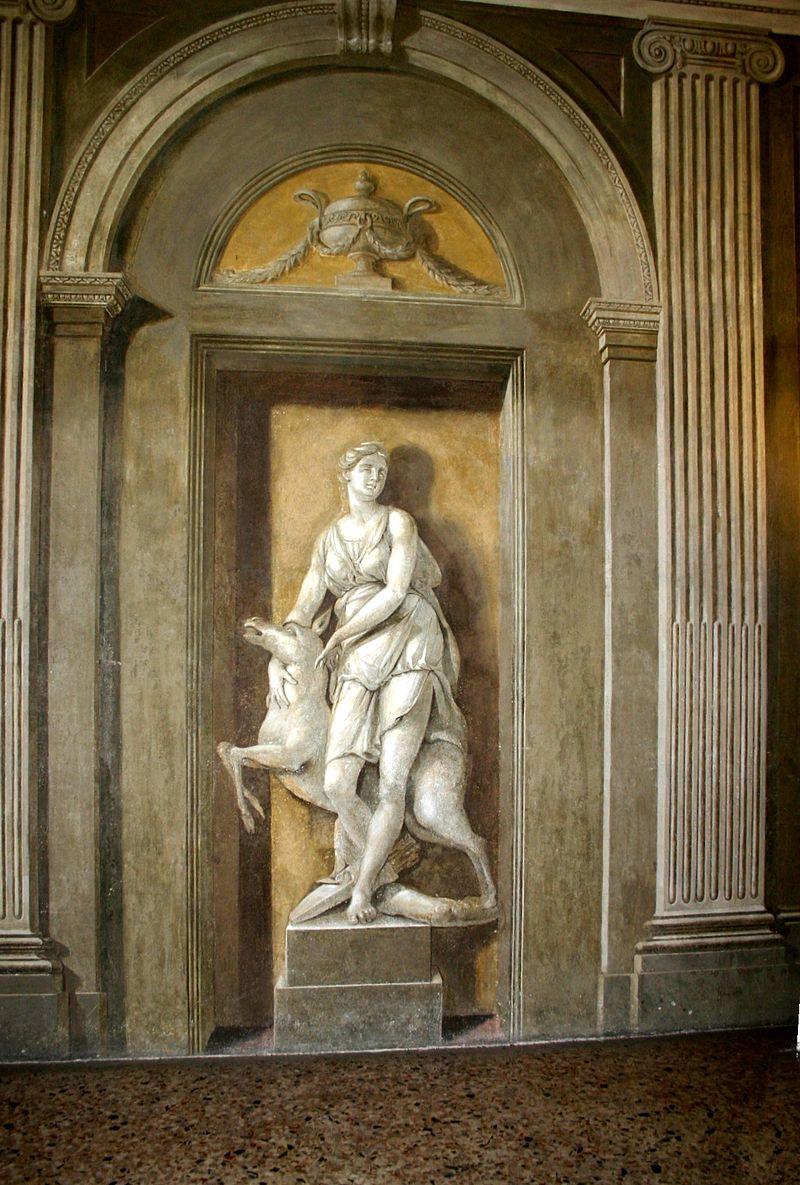 2295 - Милан - Palazzo Greppi (1776) - Diana - фото Giovanni Dall'Orto 20-May-2007.jpg