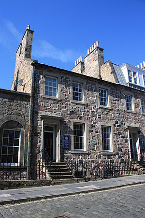 Simon Somerville Laurie - Laurie's house at 22 George Square, Edinburgh