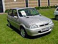 247 - 1997 grey Rover 114 GTa - last Rover 100 ever produced, front.jpg
