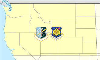 25th Air Division - 25th Air Division/Northwest Air Defense Sector AOR, 1987-1990