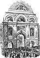 25e anniversaire de l'inauguration du roi Léopold Ier, Place royale, juillet 1856 - Hymans.jpg
