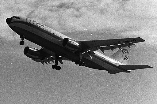 28.10.72 1er Vol d'Airbus (1972) - 53Fi1979 (cropped)