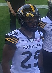 Jackson Bennett Professional Canadian football running back