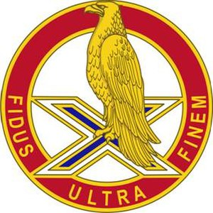 38th Air Defense Artillery Brigade (United States) - Image: 2 ADA Rgt DUI