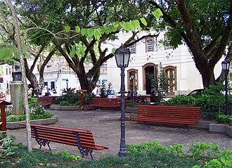 Duas Barras - Main Square