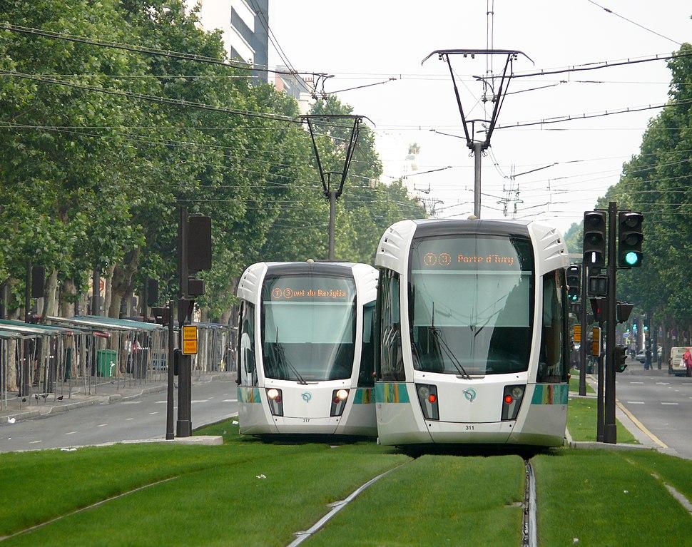2 Citadis Alstom T3 Paris