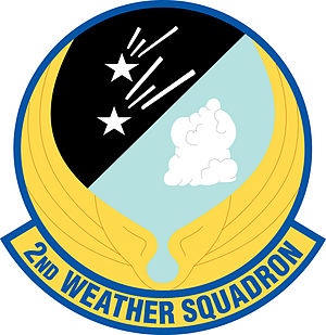 2nd Weather Squadron -  2nd Weather Squadron Patch