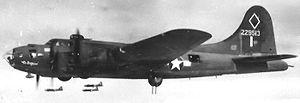 346th Test Squadron - Image: 346thbs b 17 42 29513 El Diablo