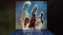 File:3D data visualisation of the Pillars of Creation.webm