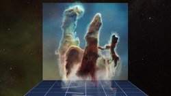 ფაილი:3D data visualisation of the Pillars of Creation.webm