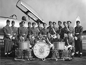 438 Squadron RCAF Band 1960s.jpg