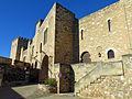 481 Castell de la Suda (Tortosa), façana est i portal del recinte superior.JPG