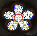 5-pointed star Stift Ossiach - Rosettenfenster.JPG