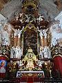 592200 dolnośląskie Krzeszów kościół Wniebowzięcia 11.JPG