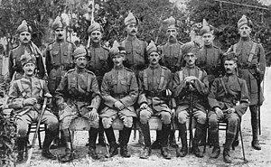 1st Punjab Regiment - Image: 62nd Punjabis, Ismailia, Egypt, 1914
