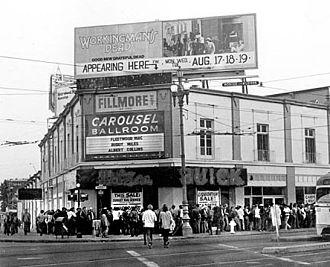 Fillmore West - Image: 69fillmorewest