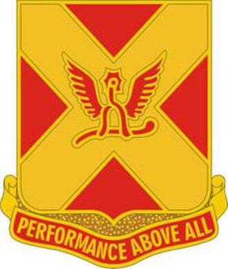 170th Infantry Brigade (United States) - Image: 84 FA Rgt DUI