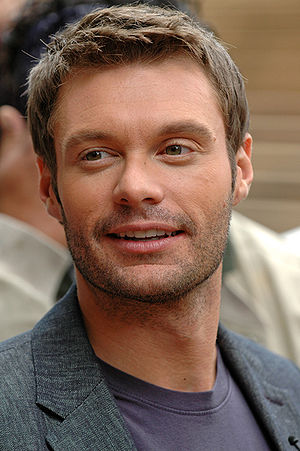 Ryan Seacrest at the Seattle auditions of Amer...