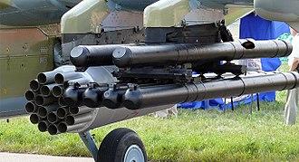 9K121 Vikhr - Vikhr missiles.