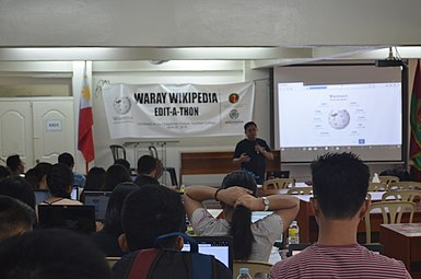 9th Waray Wikipedia Edit-a-thon 16.JPG