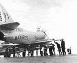 A-4C Skyhawk of H&MS-15 Det.N on USS Hornet (CVS-12) c1965.jpg