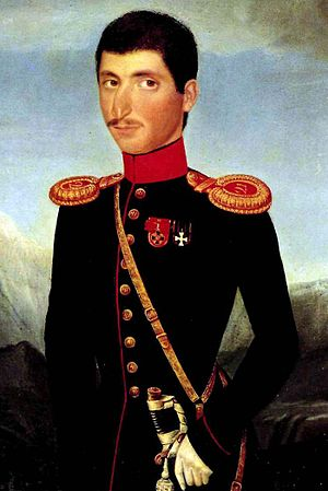 Hakob Hovnatanyan - Image: A. Hovnatanian. Captain Buchkiev. 1854