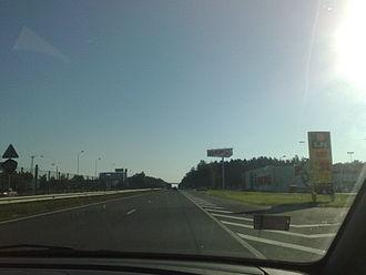 A2 road (Latvia) - Image: A2 Latvia
