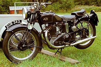 AJS 350 cc TV 1936