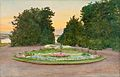 ALBERT NIKOLAEVICH BENOIS, EVENING IN THE PARK.jpg