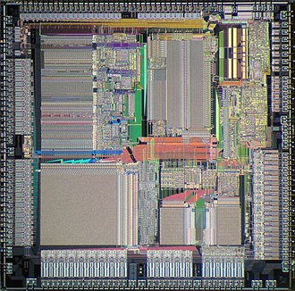 AMD Am29000 - Image: AMD Am 29000 die