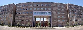Arizona State University Tempe campus - Image: ASU Main Barrett 03 2009 08 28