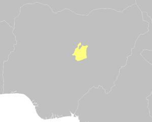 Jos Plateau - Location of the Jos Plateau