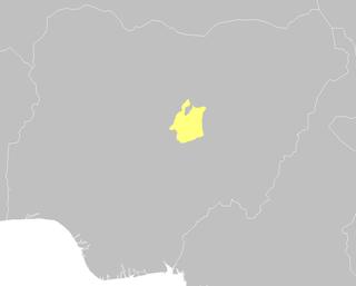 Jos Plateau mountain range