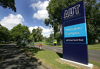 Auckland University of Technology - Entrance to AUT South Campus