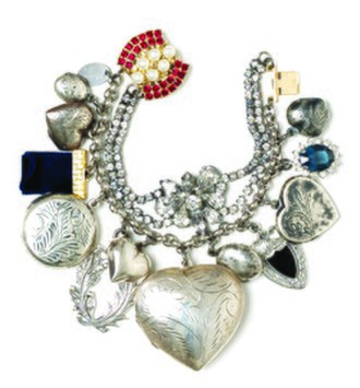 Charm bracelet - Charm bracelet with multiple charms