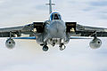 A Tornado GR4 from 125 Squadron based at RAF Lossiemouth soars high above the clouds MOD 45147883.jpg