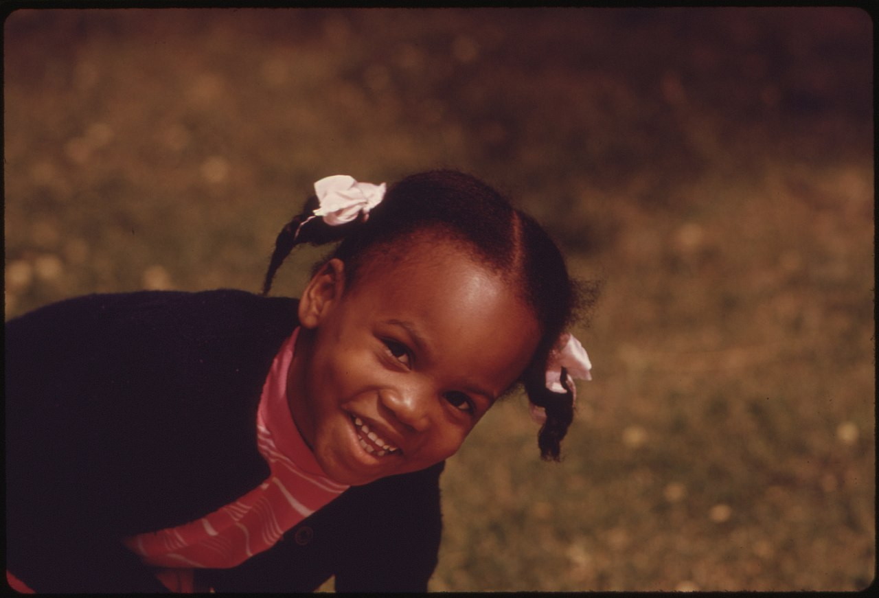 Environmental Hope >> File:A YOUNG BLACK CHILD, ONE OF THE NEARLY 1.2 MILLION PEOPLE OF HER RACE WHO MAKE UP OVER ONE ...