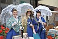 A bevy of Victorian beauties, Victorian fair Day - Llantwit Major - geograph.org.uk - 1363615.jpg