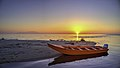 A boat at the sunset.jpg