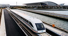 Shanghai Pudong International Airport and Shanghai Maglev train