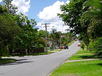 Bray Park, Queensland - A suburban street in Bray Park