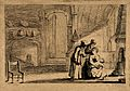A woman breast feeding her child in front of the fire, other Wellcome V0015040.jpg