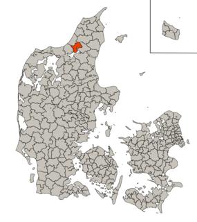 Aabybro Municipality Former municipality in Denmark