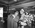Aankomst Josephine Baker Schiphol, Bestanddeelnr 907-7468.jpg