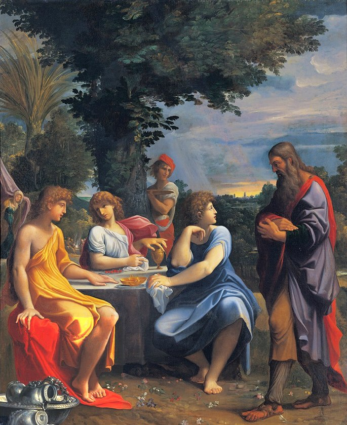 Abraham-And-The-Three-Angels