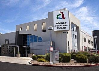 Abrazo Arizona Heart Hospital - Image: Abrazo AZ Heart MG 2543 5x 7 Copy