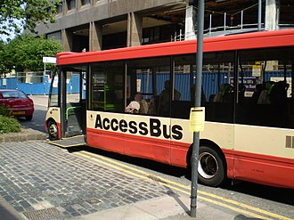 HCT Group - AccessBus in Leeds