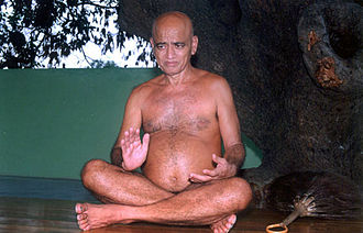 Digambara - Acharya Vidyasagar, a prominent Digambara monk