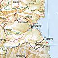 Achtopol Bulgaria 1994 CIA map.jpg