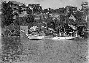 Acielle -  The sailing ship Acielle at mooring